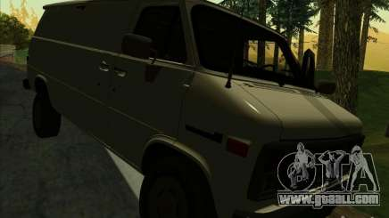 GMC Vandura C1500 for GTA San Andreas