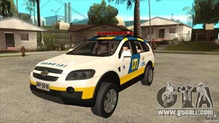 Chevrolet Captiva Police for GTA San Andreas