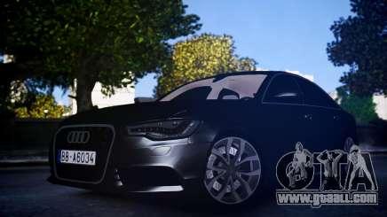 Audi A6 2012 for GTA 4