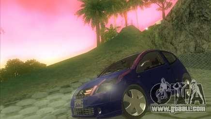 Citroen C2 for GTA San Andreas