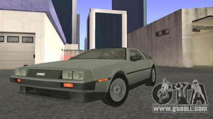 DeLorean DMC-12 for GTA San Andreas