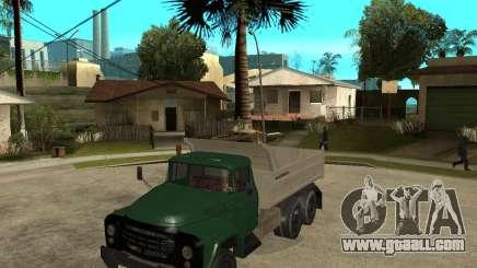 ZIL 133 dump truck for GTA San Andreas