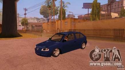 Volkswagen Gol G4 for GTA San Andreas