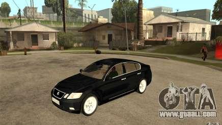Lexus GS430 2007 for GTA San Andreas