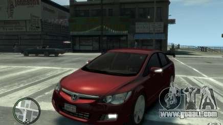 Honda Civic 2006 for GTA 4