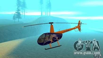 Robinson R44 Raven II NC 1.0 Skin 3 for GTA San Andreas