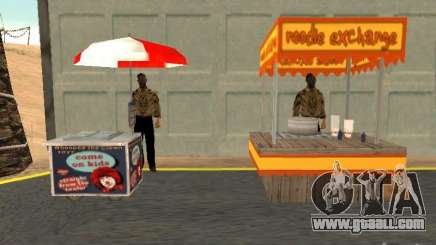 New hot dog seller for GTA San Andreas