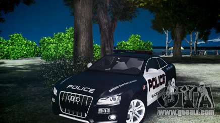 Audi S5 Police for GTA 4