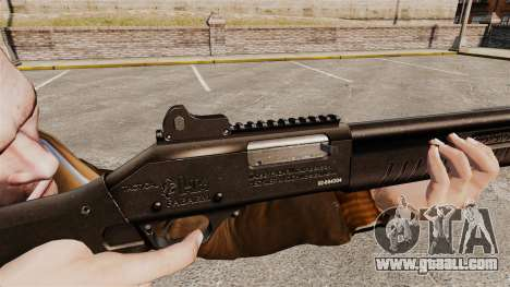 Tactical shotgun Fabarm SDASS Pro Forces v1 for GTA 4
