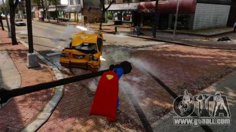 Script For Superman for GTA 4 seventh screenshot