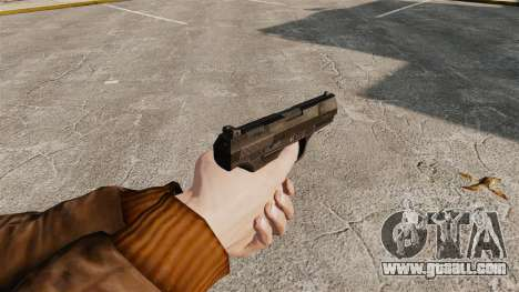 Walther P99 semi-automatic pistol v4 for GTA 4 second screenshot
