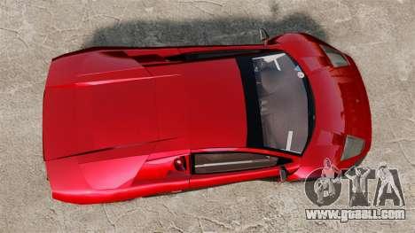 Lamborghini Murcielago RGT for GTA 4 right view
