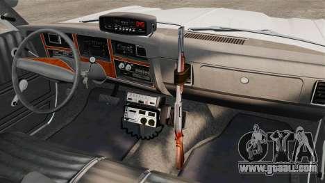 Dodge Aspen 1979 [ELS] for GTA 4 inner view