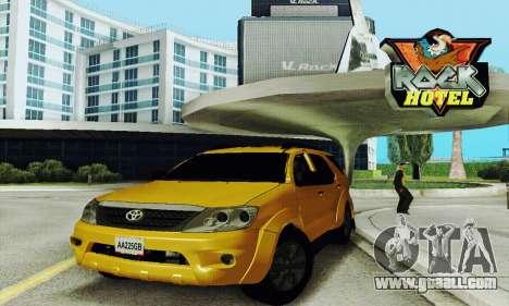 Toyota Fortuner Original 2013 for GTA San Andreas