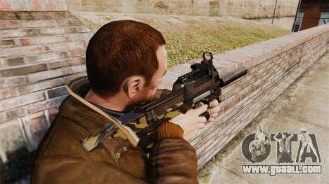 Belgian FN P90 submachine gun v6 for GTA 4 second screenshot