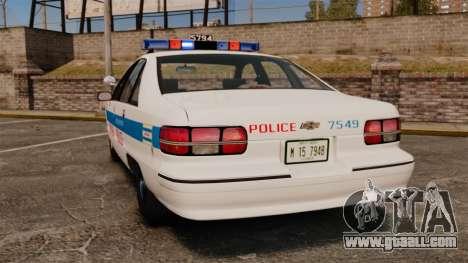 Chevrolet Caprice 1991 [ELS] v2 for GTA 4