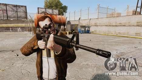 M16 A2 for GTA 4 third screenshot