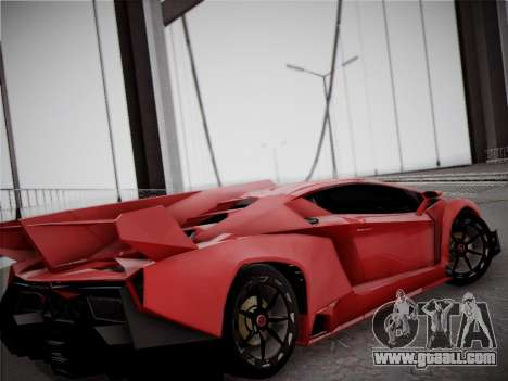 Lamborghini Veneno for GTA San Andreas side view