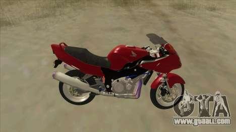 Honda CBR1100XX for GTA San Andreas left view