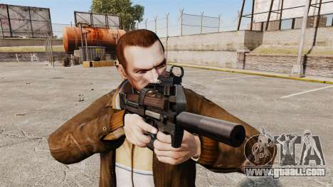 Belgian FN P90 submachine gun v1 for GTA 4 third screenshot