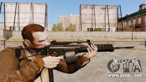 MG36 H&K v2 assault rifle for GTA 4