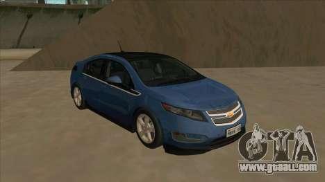 Chevrolet Volt 2011 [ImVehFt] v1.0 for GTA San Andreas left view