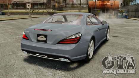 Mercedes-Benz SL500 2013 for GTA 4 back left view