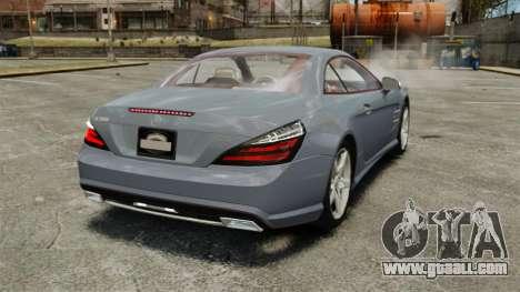 Mercedes-Benz SL500 2013 for GTA 4 back left view