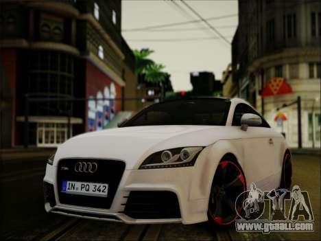 Audi TT RS 2013 for GTA San Andreas