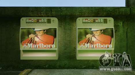 New vending machine selling cigarettes for GTA 4 second screenshot
