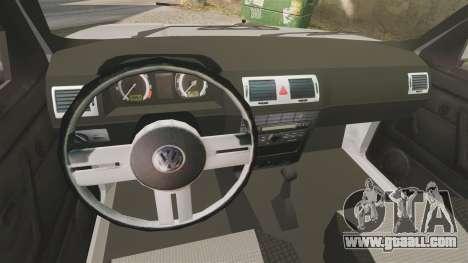 Volkswagen Citi Golf Velociti 2008 for GTA 4 inner view