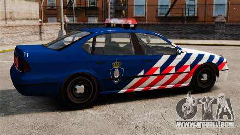 The Dutch military police for GTA 4 left view