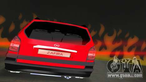 Opel Zafira for GTA Vice City