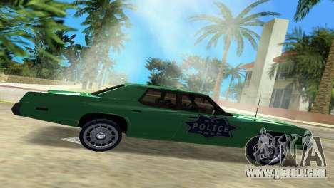 Dodge Monaco Police for GTA Vice City left view