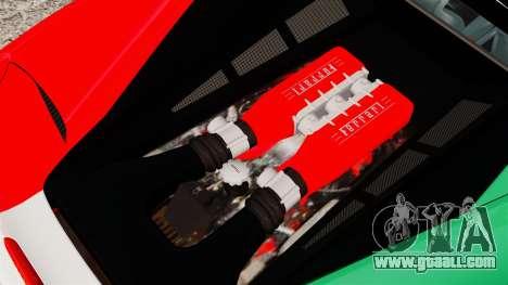Ferrari 458 Italia 2010 Italian for GTA 4 inner view