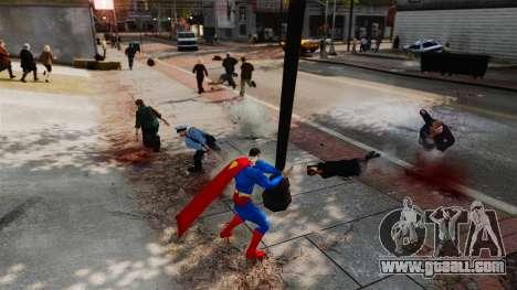 Script For Superman for GTA 4 eighth screenshot