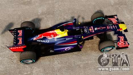 Car, Red Bull RB9 v1 for GTA 4