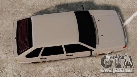 Vaz-2114 Bunker for GTA 4 right view