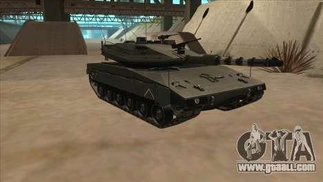 Merkava IV for GTA San Andreas