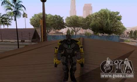 Skins Pack - Iron man 3 for GTA San Andreas third screenshot