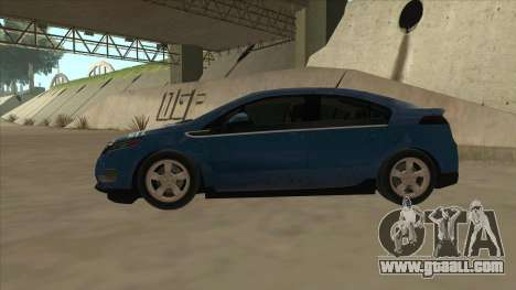 Chevrolet Volt 2011 [ImVehFt] v1.0 for GTA San Andreas