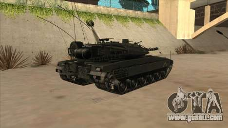Merkava IV for GTA San Andreas right view