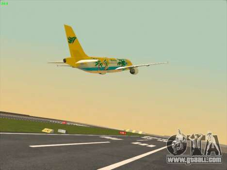 Airbus A320-211 Cebu Pacific Airlines for GTA San Andreas inner view