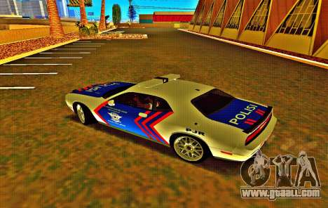 Dodge Challenger Indonesian Police for GTA San Andreas