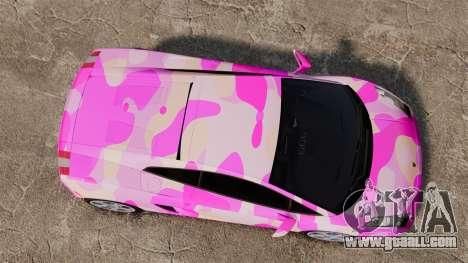 Lamborghini Gallardo 2005 [EPM] Pink Camo for GTA 4 right view