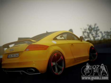 Audi TT RS 2013 for GTA San Andreas right view