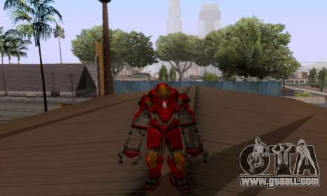 Skins Pack - Iron man 3 for GTA San Andreas sixth screenshot