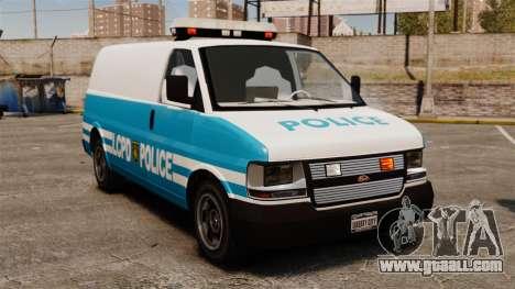LCPD Police Van for GTA 4