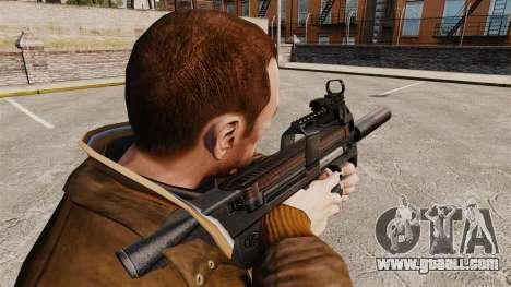 Belgian FN P90 submachine gun v1 for GTA 4 second screenshot