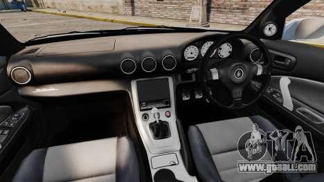 Nissan Silvia S15 v3 for GTA 4 back view